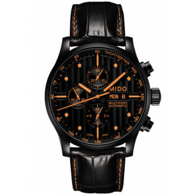 Mido Multifort Chronograph M0056143605122 Automat Chronograph, Water resistance 100M, 44 mm