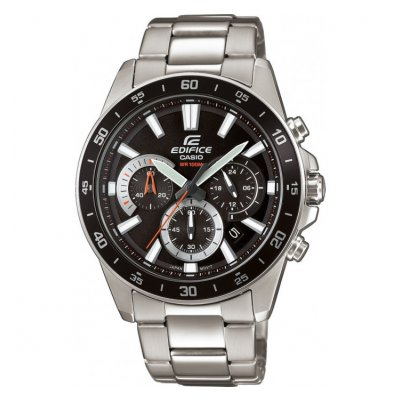 Casio EDIFICE EFV 570D-1A Vode odolnosť 100M, Quartz Chronograf, 47 mm