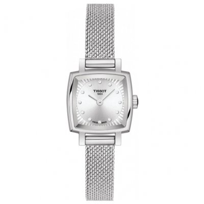 Tissot T-Lady Lovely Square T058.109.11.036.00 Diamanty, Quartz, 20 mm