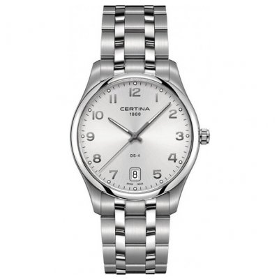 Certina DS-4 C022.610.11.032.00 Quartz, Water resistance 100M, 39 mm