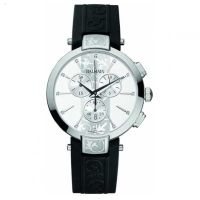 Balmain Downtown ICONIC CHRONO LADY B53513216 Indexy,Quartz Chronograf, 38 mm