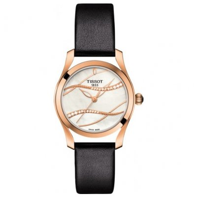 Tissot T-Lady T112.210.36.111.00 T-WAVE, Diamanty, 30 mm