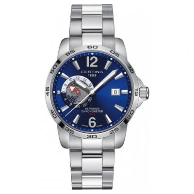 Certina DS Podium C034.455.11.047.00 Chronometer, Quartz, 41 mm