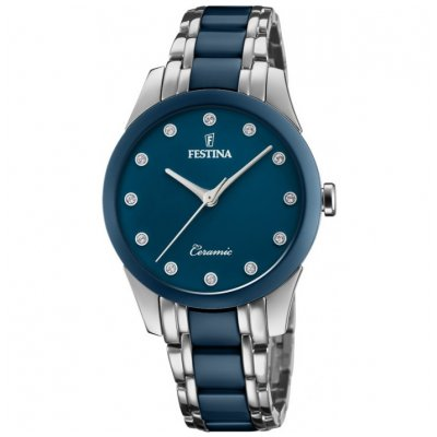 Festina Ceramic F20499/2 SWAROVSKI, Quartz, 35 mm