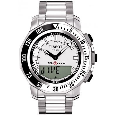 Tissot T-Touch T026.420.11.031.01 SEA-TOUCH, Quartz, 44 mm