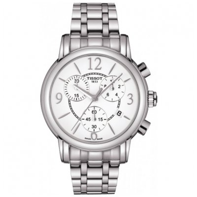 Tissot T-Classic T050.217.11.017.00 DRESSPORT, Quartz Chronograf, 35 mm