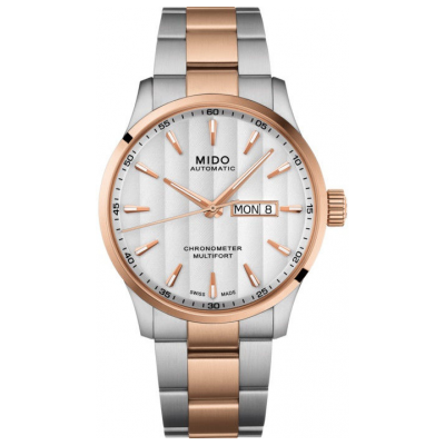 Mido Multifort III Automatic M0384312203100 Chronometer, Automat, 42 mm