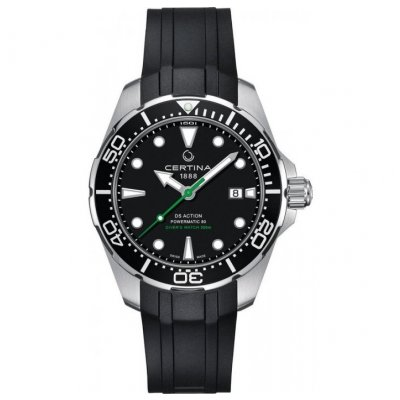 Certina DS Action Diver C032.407.17.051.00 Powermatic 80, Automat, Vode odolnosť 300M, 43 mm