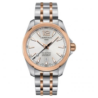 Certina DS Action C032.851.22.037.00 Chronometer, Quartz, 41 mm