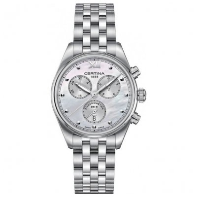 Certina DS-8 C033.234.11.118.00 Chronometer, Quartz Chronograf, 35 mm
