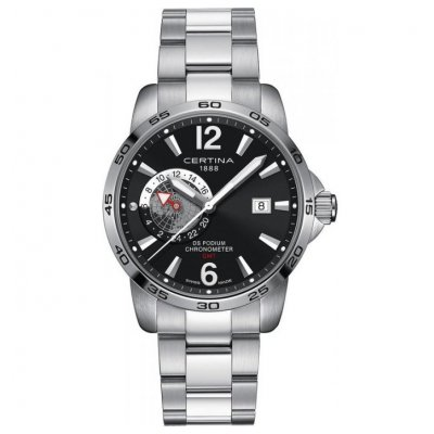 Certina DS Podium C034.455.11.057.00 GMT, Quartz , 41 mm