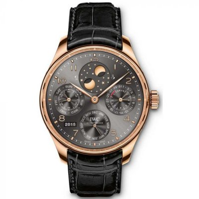 IWC Portugieser PERPETUAL CALENDAR IW503404 In-house movement, 44.2 mm