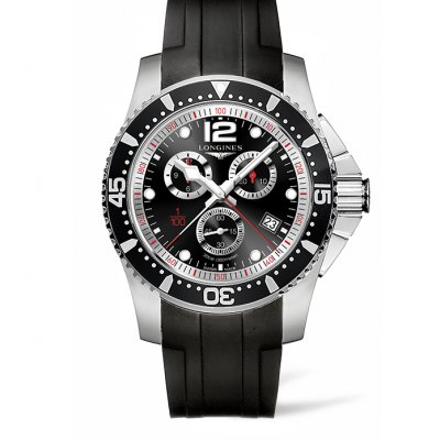 Longines HydroConquest L38434562 Water resistance 300M, Quartz Chronograph, 47.50mm