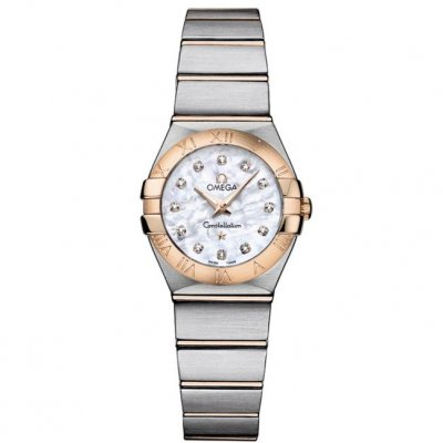 Omega Constellation 123.20.24.60.55.001 Quartz, Diamanty/Zlato, 24mm