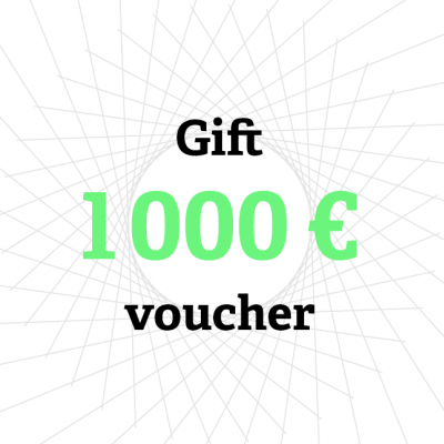Gift card 1 000 €