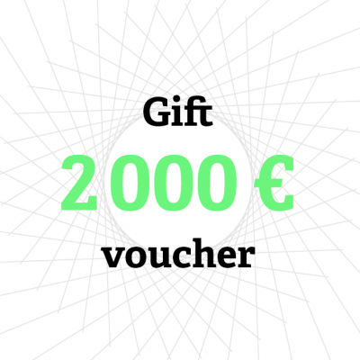 Gift card 2 000 €