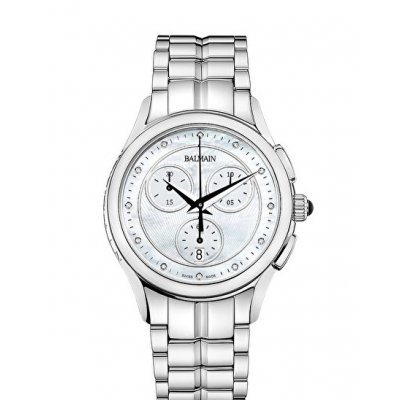 Balmain Tradition MAESTRIA CHRONO LADY ROUND B76313386 Diamanty, Quartz Chronograf, 36 mm