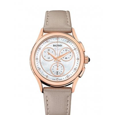Balmain Tradition MAESTRIA CHRONO LADY ROUND B76395286 Diamanty, Quartz Chronograf, 36 mm
