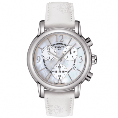 Tissot T-Classic T050.217.17.117.00 DRESSPORT, Quartz Chronograf, 35 mm