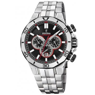 Festina Chrono bike F20448/4 Quartz Chronograf, Vode odolnosť 100M, 44 mm