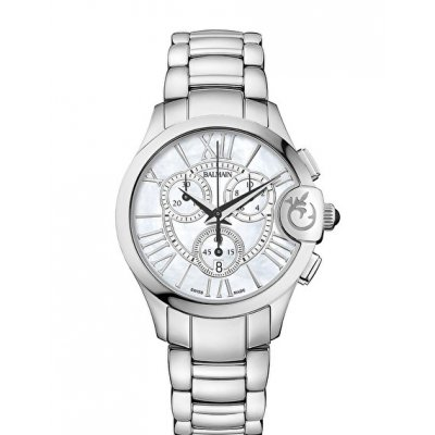 Balmain Downtown BALMAINIA CHRONO LADY ARABESQUES B69713382 Roman Numerals, Quartz Chronograph, 36 mm
