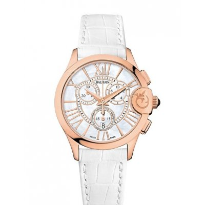 Balmain Downtown BALMAINIA CHRONO LADY ARABESQUES B69792282 Roman Numerals, Quartz Chronograph, 36 mm