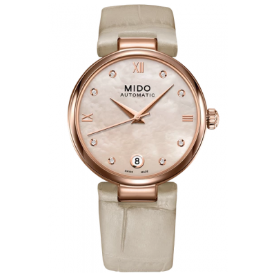 Mido Baroncelli Donna M0222073611611 Diamanty, Automat, 33 mm