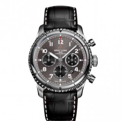 Breitling Aviator 8 B01 Chronograph 43 AB0119131B1P2 In-house calibre, Water resistance 100M, 43 mm