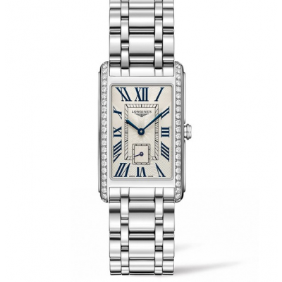 Longines DolceVitta L57550716 Diamanty, Quartz, 26.1 x 42 mm