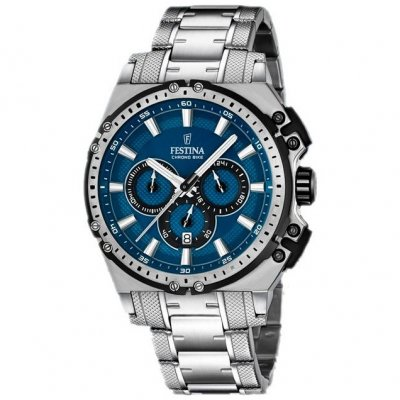Festina Chrono bike 16968/2 Water resistance 100M, Quartz Chronograph, 44 mm