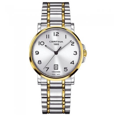 Certina DS Caimano C017.410.22.032.00 Arabské číslice, Quartz, 38 mm