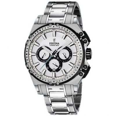 Festina Chrono bike 16968/1 Water resistance 100M, Quartz Chronograph, 44 mm