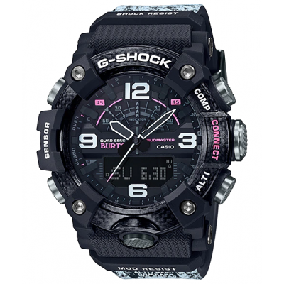 Casio G-SHOCK MUDMASTER LIMITED GG B100BTN-1A Bluetooth, Quartz, Vode odolnosť 200M, 52.90 mm