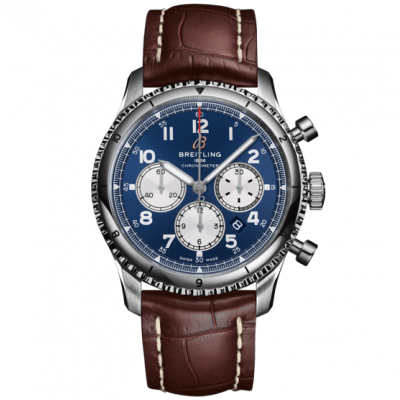 Breitling Aviator 8 B01 Chronograph 43 AB0119131C1P4 In-house calibre, Water resistance 100M, 43 mm