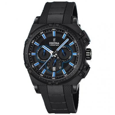 Festina Chrono bike 16971/2 Vode odolnosť 100M, Quartz Chronograf, 44 mm
