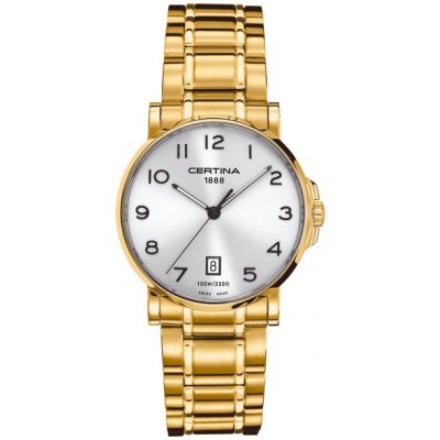 Certina DS Caimano Lady C017.210.33.032.00 Arabské číslice, Quartz, 27 mm