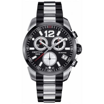 Certina C016.417.22.057.0 DS ROOKIE, Quartz Chronograf, 43 mm
