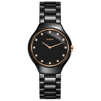 Rado True R27742722 Thinline, Quartz, 30 mm