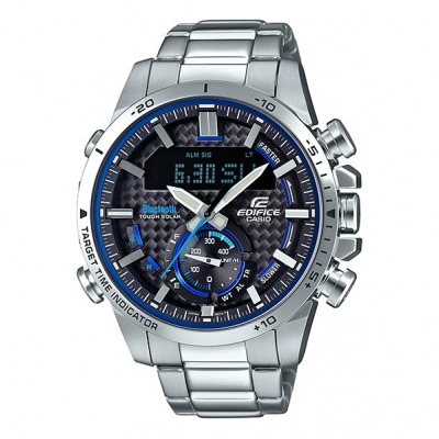Casio EDIFICE ECB 800D-1A Bluetooth, Solar, Vode odolnosť 100M, 48 mm