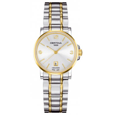 Certina DS Caimano Lady C017.210.22.037.00 Arabské číslice, Quartz, 27 mm