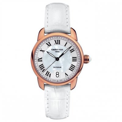 Certina DS Podium Lady C025.210.36.118.00 Rímske číslice, Quartz, 33 mm