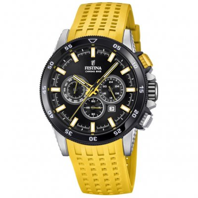 Festina Chrono bike F20353/5 Vode odolnosť 100M, Quartz Chronograf, 44 mm