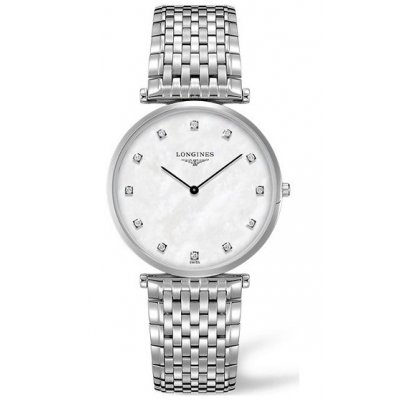 Longines La Grande Classique de Longines L47664876 Diamanty, Quartz, 37 mm