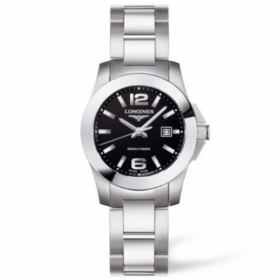 Longines Conquest L33764586 Quartz, 29,50 mm