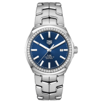 TAG Heuer Link WBC2113.BA0603 Diamonds, Quartz, 32 mm
