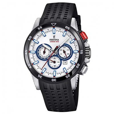Festina Chrono bike F20353/1 Vode odolnosť 100M, Quartz Chronograf, 44 mm