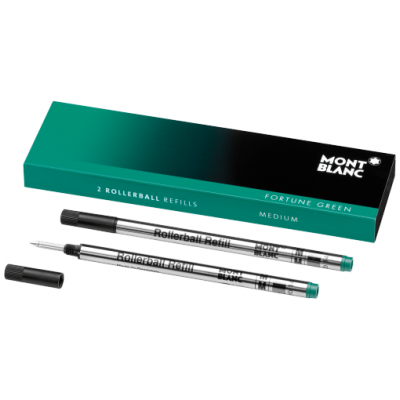 Mont Blanc 105161 Tuhy, Rollerball, Fortune Green, (M)