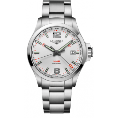 Longines Conquest V.H.P GMT L37284766 Quartz, 43 mm
