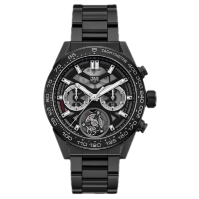 TAG Heuer Carrera Heuer 02 T CAR5A90.BH0742 Tourbillon, 45 mm