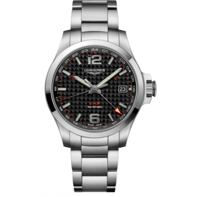 Longines Conquest V.H.P GMT L37184666 Quartz, GMT, 41 mm
